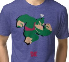 Donkey Kong - Super Smash Brothers Tri-blend T-Shirt