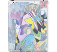 Abstract Color Doodle #30 iPad Case/Skin