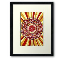 Pop fruit Framed Print