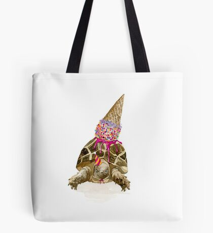 Party Turtle Tote Bag
