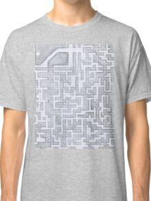 Patterned Graph Paper Doodle  Classic T-Shirt