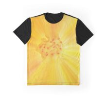 Abstract Floral Macro Graphic T-Shirt
