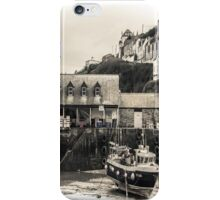 Harbour Office and Boat - Cornwall iPhone Case/Skin