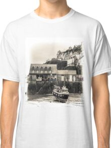 Harbour Office and Boat - Cornwall Classic T-Shirt