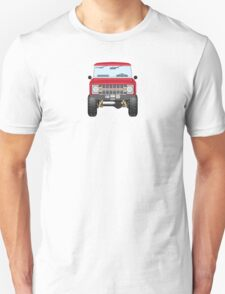 Ford Bronco (red) Unisex T-Shirt