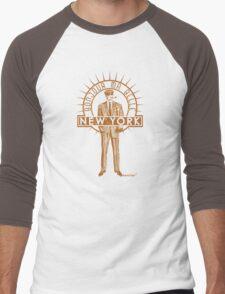 Bonjour ma belle New York by Francisco Evans ™ Men's Baseball ¾ T-Shirt