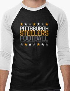 Pittsburgh Steelers Men's Baseball ¾ T-Shirt