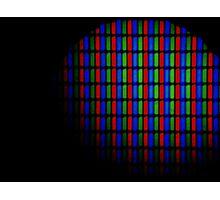 Pixel Lights Photographic Print