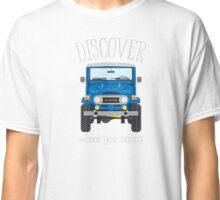Discover Where You Belong (blue) Classic T-Shirt