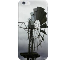 Spinning Wind Turbine iPhone Case/Skin