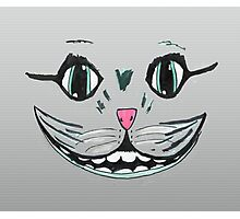 cat face smile  Photographic Print