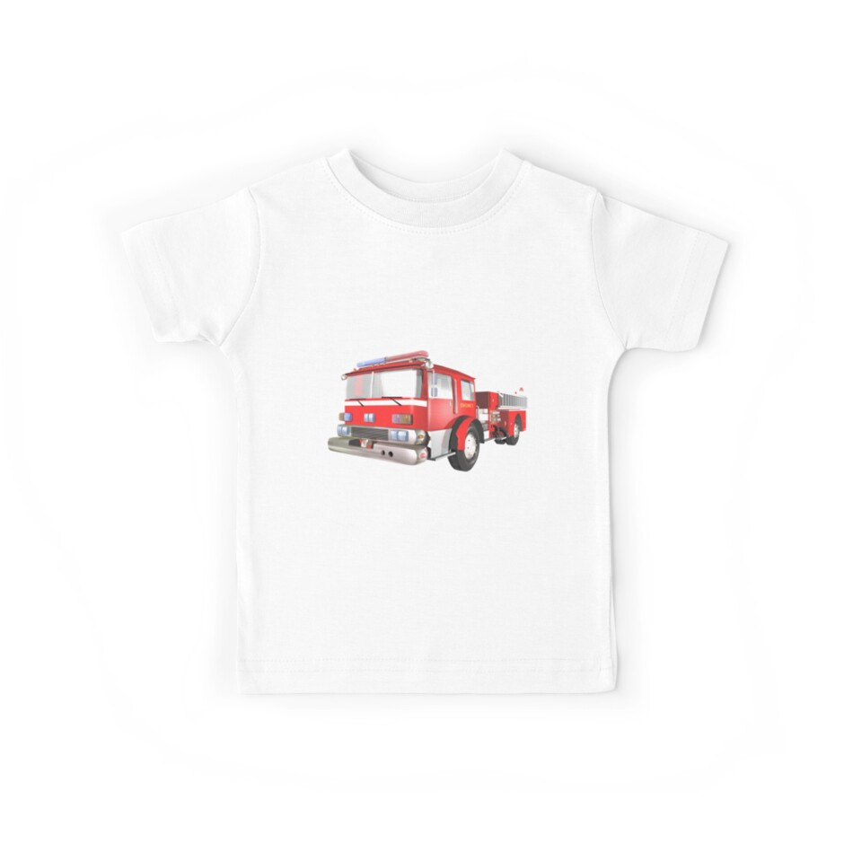 Fire Engine by Carol and Mike Werner