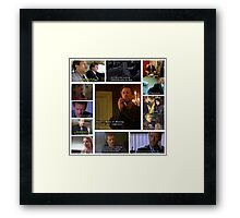 House M.D. Quotes Framed Print