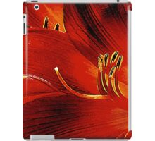 Blood-red Flowers iPad Case/Skin