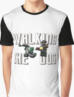 Walking the dog! Graphic T-Shirt