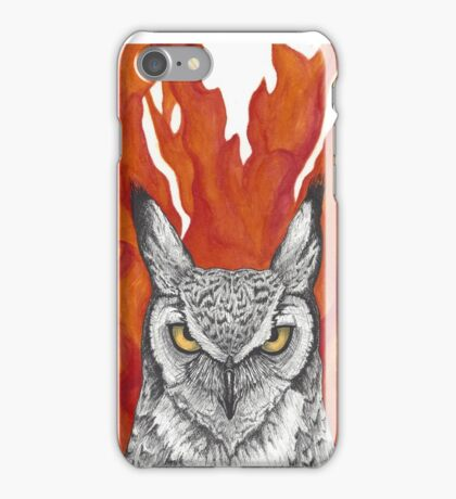 The Owl Brothers Grimm Fairy Tales iPhone Case/Skin