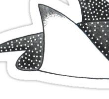 Eagle Ray Sticker