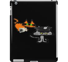 Two Cats Play Cop and Robber iPad Case/Skin