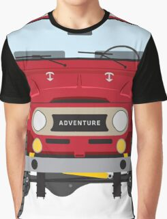 Toyota FJ40 (red) Graphic T-Shirt
