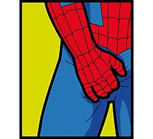 Itchy Spiderman Photographic Print