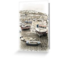 Tide's Out - Cornwall Greeting Card