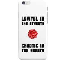 Lawful Chaotic iPhone Case/Skin