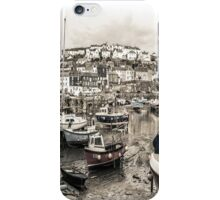 Waiting for the Tide - Cornwall iPhone Case/Skin