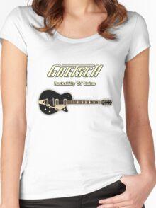 Gretsch '57 Rockabilly Guitar Women's Fitted Scoop T-Shirt