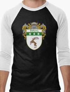 Doherty Coat of Arms/Family Crest Men's Baseball ¾ T-Shirt