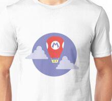 Mario Super Mushroom Air Balloon Unisex T-Shirt