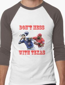 don't mess with texas Men's Baseball ¾ T-Shirt