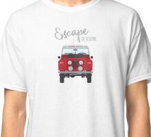 Escape the Routine (red) Classic T-Shirt