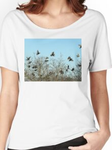 Last Dance At Roosting Time Women's Relaxed Fit T-Shirt