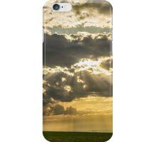 Sunshine Beams of Gold Raining Down iPhone Case/Skin