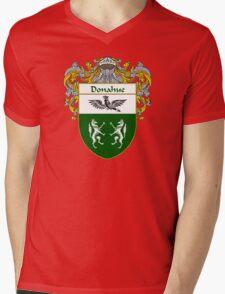 Donahue Coat of Arms/Family Crest Mens V-Neck T-Shirt