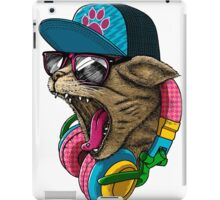 Cool Cat Shirt Youth T Animal Pet Kids Amazing Items Sunglasses Lover Gift Headphones Head Biker Tee Garfield Sublimation Licensed iPad Case/Skin