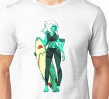 Malachite surfer Unisex T-Shirt
