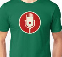 Microphone Sign Unisex T-Shirt