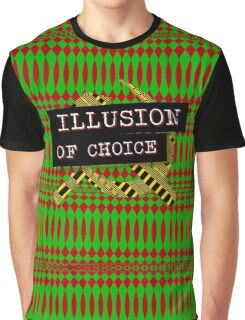 """Illusion Of Choice"" Graphic T-Shirt"