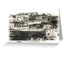 Harbour Houses - Cornwall Greeting Card