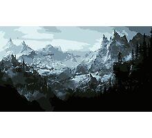 The Land of Skyrim Photographic Print