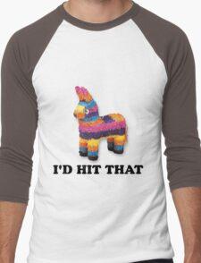 I'D HIT THAT  Men's Baseball ¾ T-Shirt