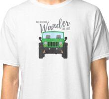 Wander (green) Classic T-Shirt