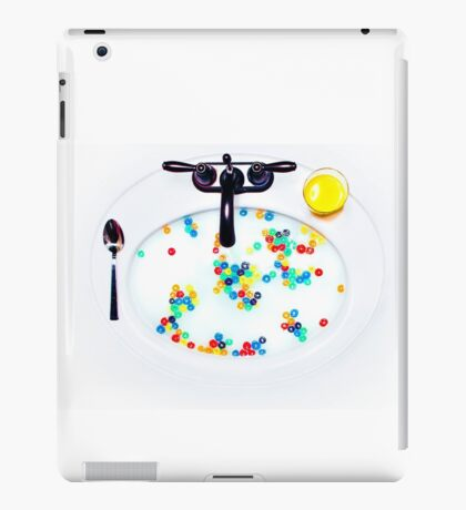 Cereal Sink iPad Case/Skin