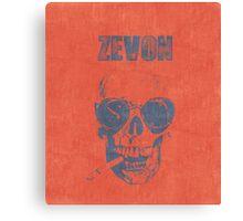 WARREN ZEVON Fan Art Canvas Print