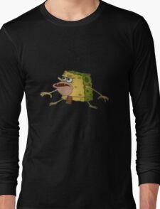 Caveman Spongebob Long Sleeve T-Shirt