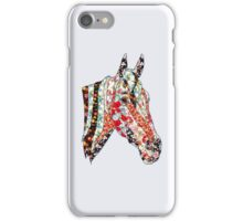 Horse Patchwork cool style  iPhone Case/Skin