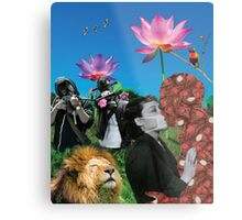 Infectious Affection Metal Print