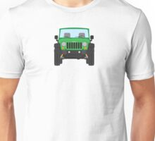 Jeep Wrangler (green) Unisex T-Shirt