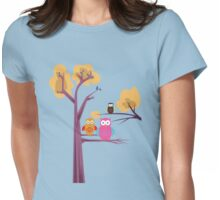 Owls Womens Fitted T-Shirt